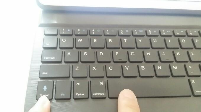 Inateckキーボードカバー変換
